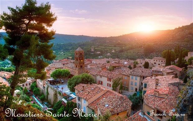 Moustiers-Sainte-Marie, путеводитель