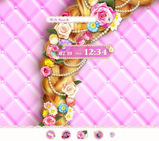 Cute Theme-Flowery Princess-