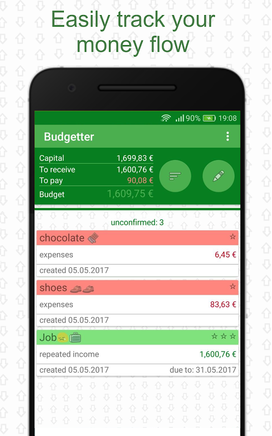 Budgetter - Personal Budget & Expense Tracking- screenshot