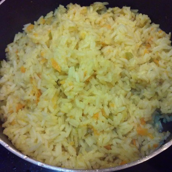 Salvadorian Carrot Rice Recipe