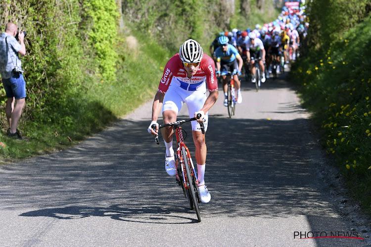 Mathieu van der Poel krijgt hulp van twee Belgen tijdens Strade Bianche