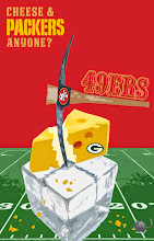 Photo: Made this after the 9ers beat the packers in the ice!