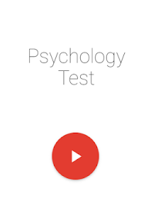 Psychology Test - náhled