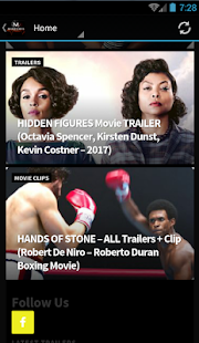 MoviesEvents (Movie Trailers)- screenshot thumbnail