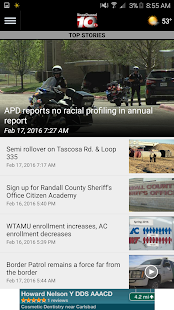 NewsChannel 10 – Amarillo, TX- screenshot thumbnail
