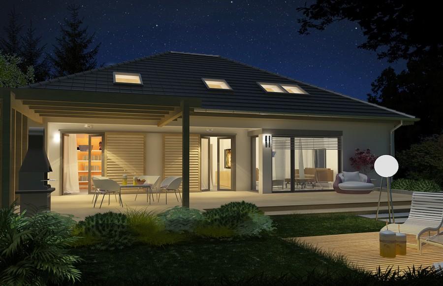 Projekt Domu Tytus 2 Wersja A Parterowy Bez Garażu Twf 918 1334m²