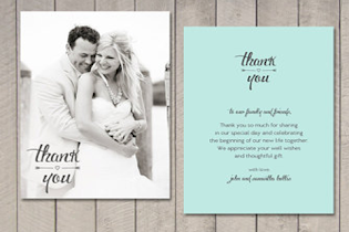 Wedding Thanks Card - screenshot thumbnail 01