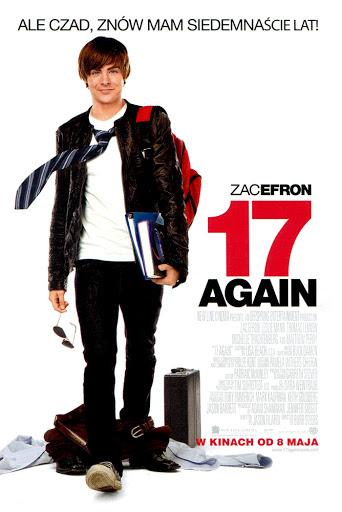 Przód ulotki filmu '17 Again'