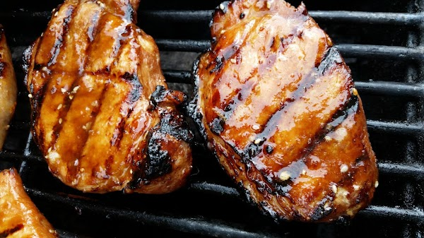 Can drizzle with remaining marinade as well.  Enjoy! They were awesome!