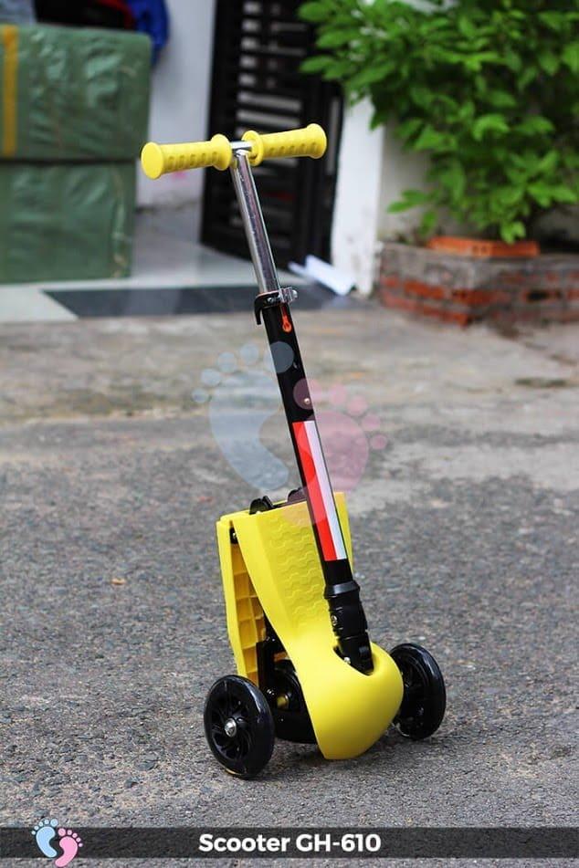 Xe trượt Scooter GH-610 gấp gọn 3