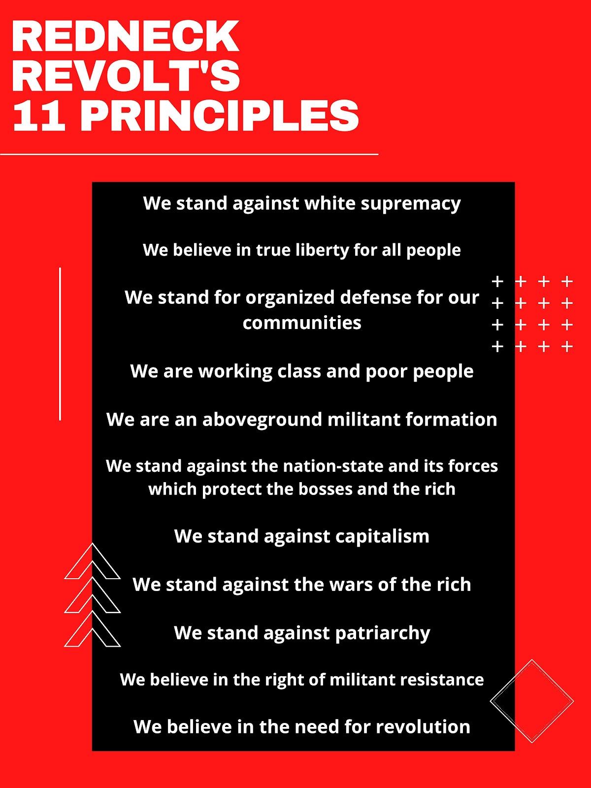 Redneck Revolt's 11 principles