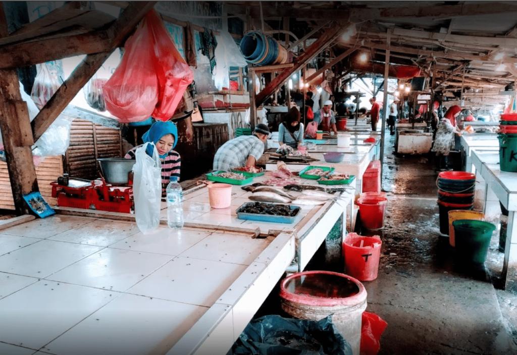 merchant in pasar jombang