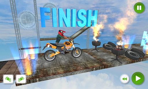 Racing Bike 3D Trial Bike Stunts Ramp Bike Jumping 1.1 screenshots 6