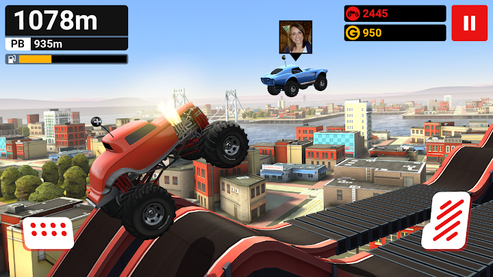 MMX Hill Dash Android App Screenshot