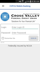 CVFCU Mobile Banking screenshot 0