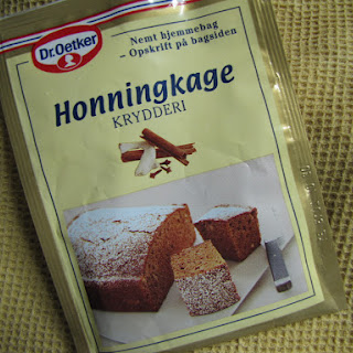 Honningkage – Danish Honey Cake.
