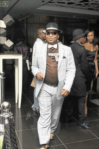 DON'T BELIEVE A WORD: Kenny Kunene denies that his ZAR Lounge in Sandton is closing down. Photo: Tshepo Kekana