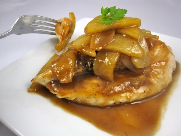 Sauteed Apples With Chicken Recipe