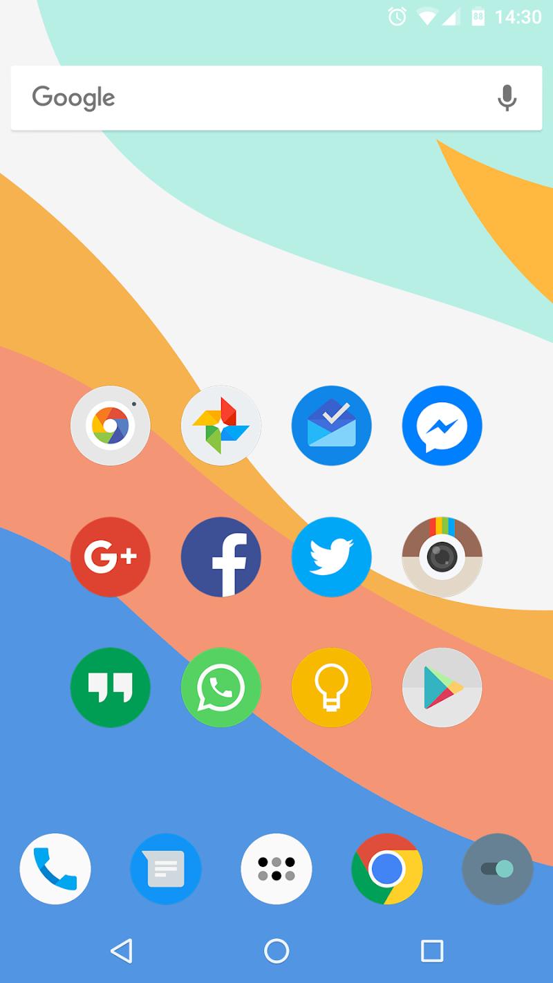 FlatDroid - Icon Pack Screenshot