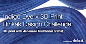 "Rinkak Marketplace announces  ""Indigo Dye x 3D Print Design Challenge"""