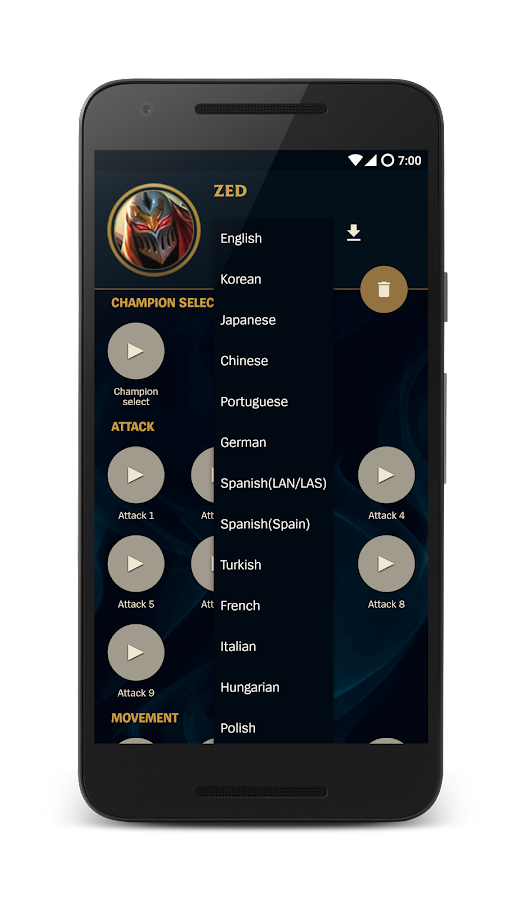 Voices of LoL - Soundboard- screenshot