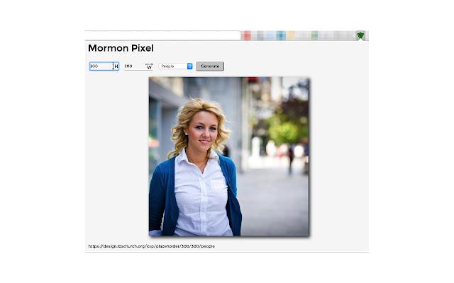 Mormon Pixel