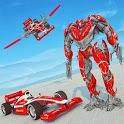 Formula Car Robot City Battle 2019 icon
