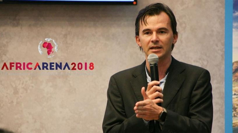 Christophe Viarnaud, founder and CEO of AfricArena.