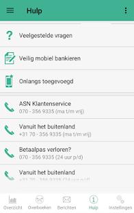 ASN Mobiel Bankieren - náhled