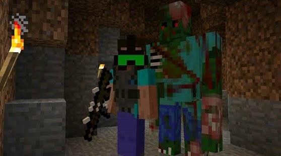 Night World Zombie MOD for MCPE - náhled