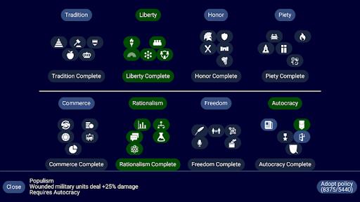 Capturas de pantalla de Unciv 4