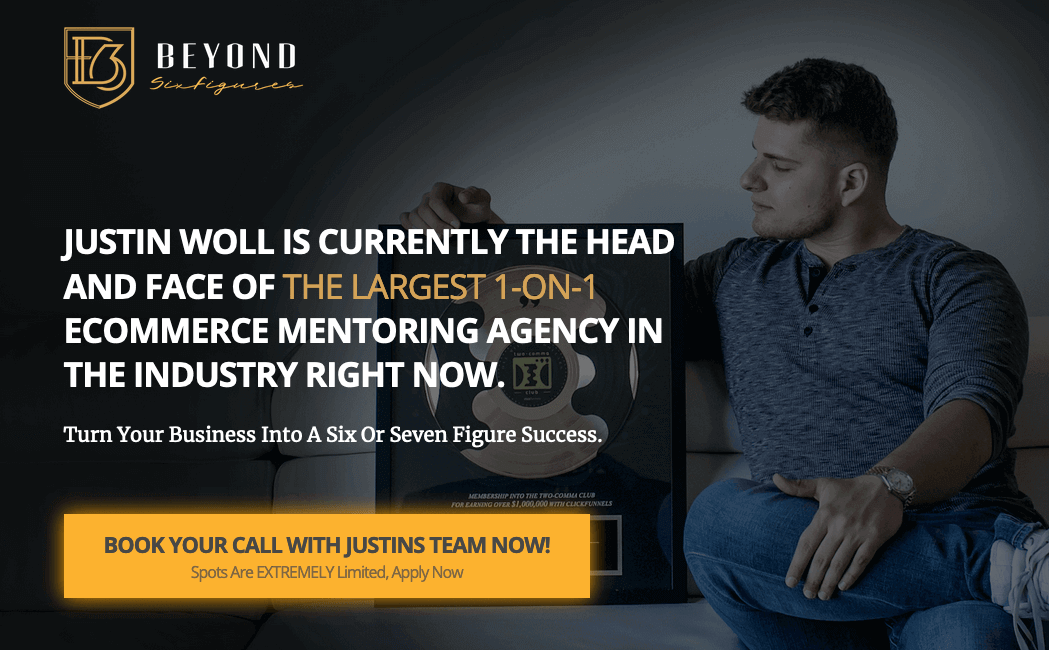 Justin Woll info about being the best dropshipping mentor available