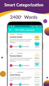 Download TOEFL TPO Flashcards : Learn English Vocabulary APK