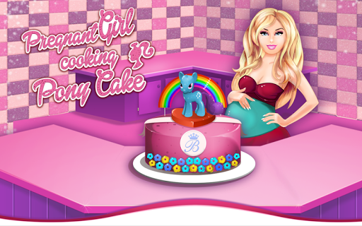 Pony Princess Cake