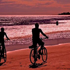taking a bike ride by Argirios Kostaras - People Couples (  )