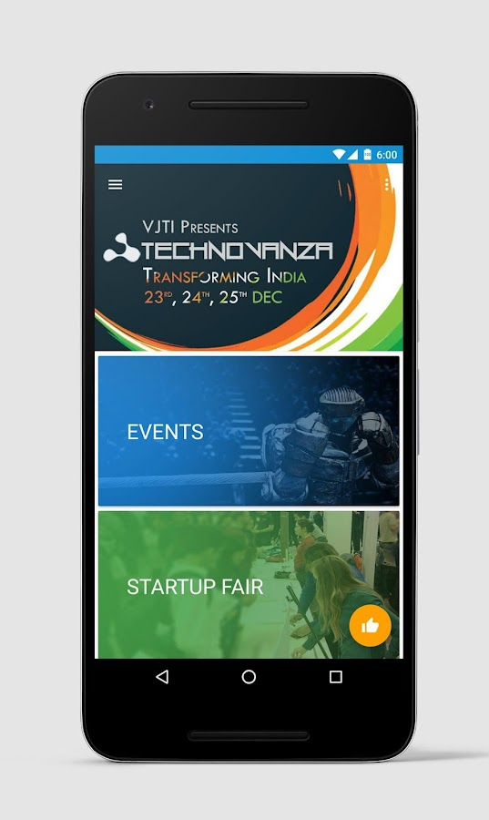 Technovanza- screenshot