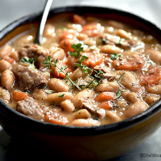 Beef and Bean Soup.
