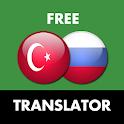 Turkish - Russian Translator icon