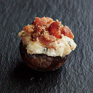 Bacon and Ricotta-Stuffed Mushrooms