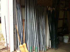 Photo: Canopy poles Brosig