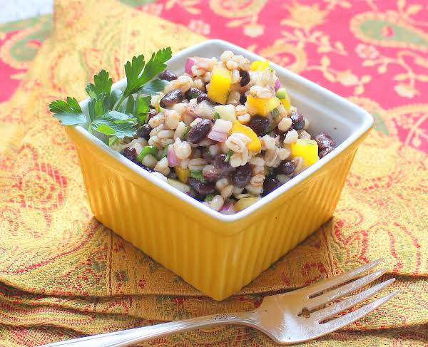 Honey, Barley And Bean Salad Recipe