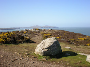 Photo: From St David's to Abercastle (bkgrd: Ramsey Island)