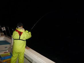Photo: ウキは頻繁に入るんですが 「サメ」に事ごとく獲られてしまいます!