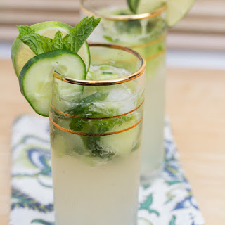 Cucumber Gin Elderflower Smash