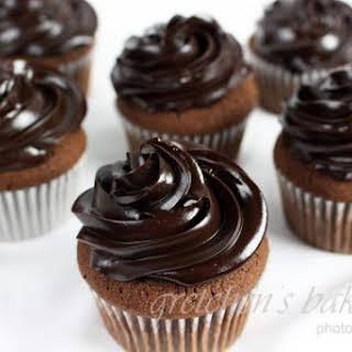 Double Chocolate Cupcakes.