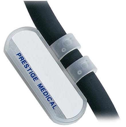 Namnskylt stetoskop - Transparent