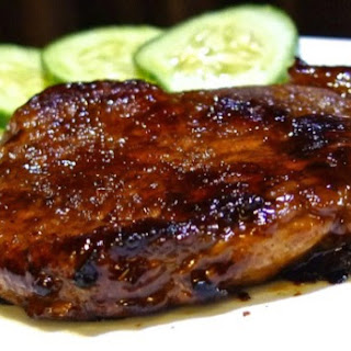 Asian Marinated Pan Fried Pork Chop