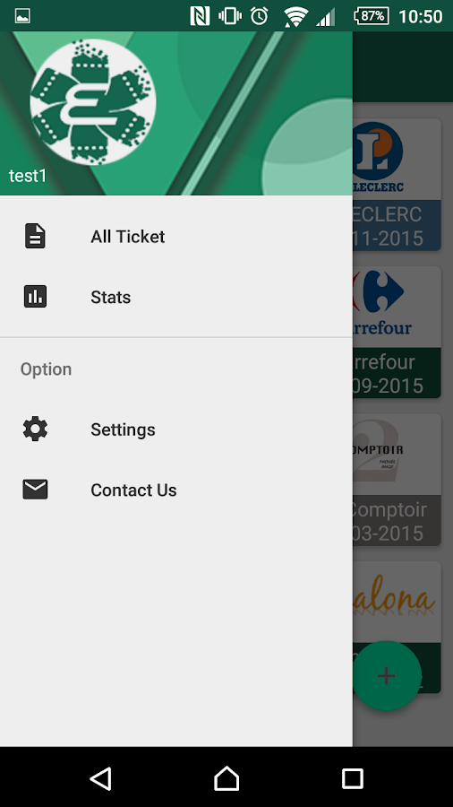 EcoTicket- screenshot