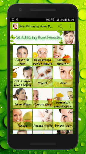 Skin Lightening And Treatments With Home Remedies 1.1 screenshots 1