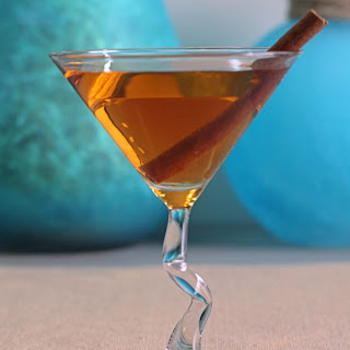 Ginger Apple Spice Cocktail